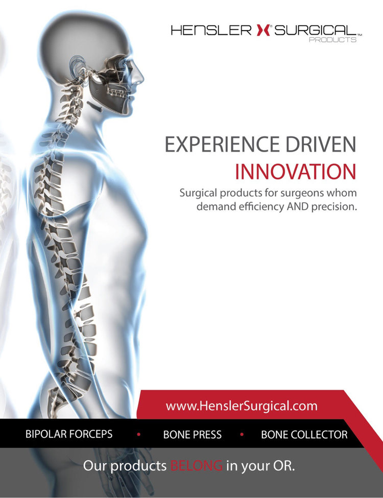 Beckers Spine Interview With Hensler Surgical
