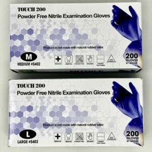 Nitrile Examination Protective Gloves - Powder Free | Medium