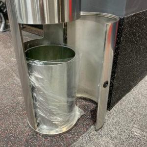 Zehn X Sanitizing Wipes Dispenser / Trash can